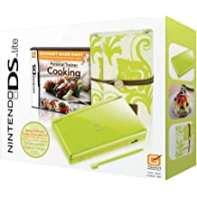 Nintendo DS Lite Limited Green with Personal Trainer: Cooking Bundle