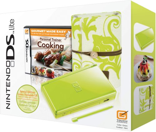 Nintendo DS Lite Green Spring Bundle w/Personal Trainer: Cooking ()