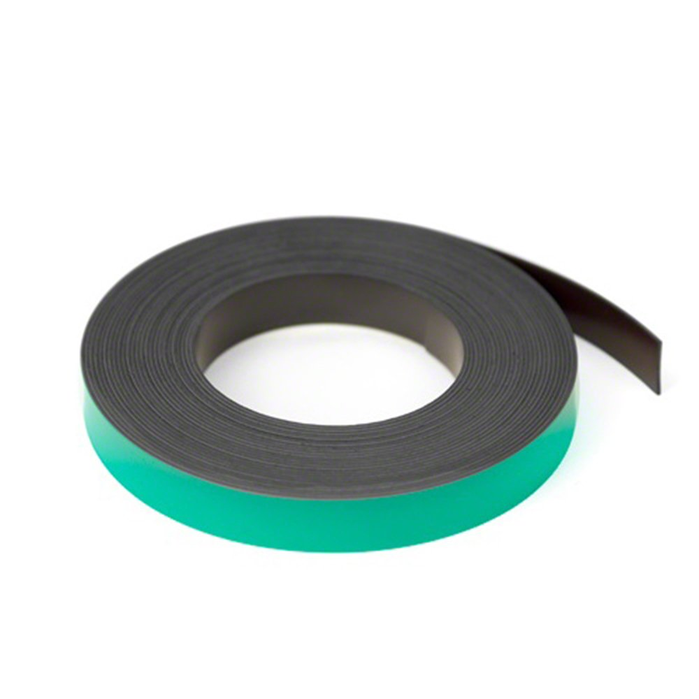 Magnet Expert® Green 12.7mm wide x 0.76mm thick Magnetic Gridding Tape ( 12.7mm x 0.76mm x 5 Metres ) ( Pack of 5 ) Magnet Expert® MFL12(GN)-5X5M
