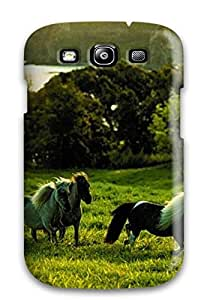 Anti-scratch And Shatterproof Cool Horse S Phone Case For Galaxy S3/ High Quality Tpu Case