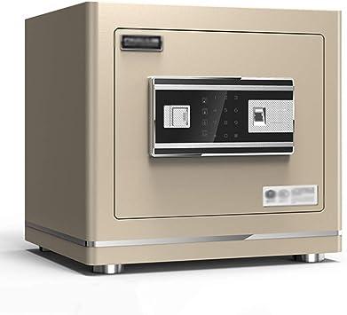 Cajas fuertes Caja fuerte electrónica for el hogar con medio alarma de oficina Caja fuerte de almacenamiento de huellas digitales antirrobo (Color : Gray, Size : 38 * 30 * 35cm): Amazon.es: Bricolaje y herramientas