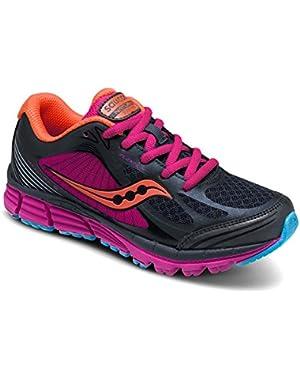 Kid's Kinvara Sneaker, Black/Pink, 11 M US Little Kid