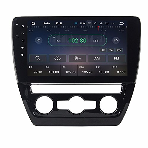 BoCID Android 7.1 Car Radio DVD GPS Multimedia Head Unit for VW Volkswagen SAGITAR 2015 2016 With 2GB RAM Bluetooth WIFI Mirror-link by BoCID (Image #2)'