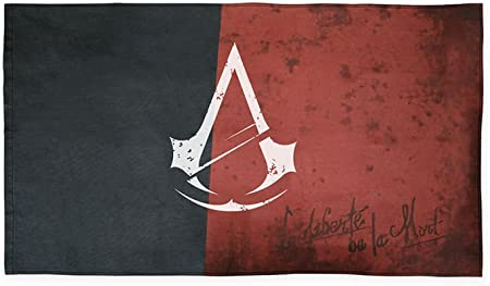 Amazon Com Ubisoft Assassin S Creed Unity Revolution Flag Garden Outdoor