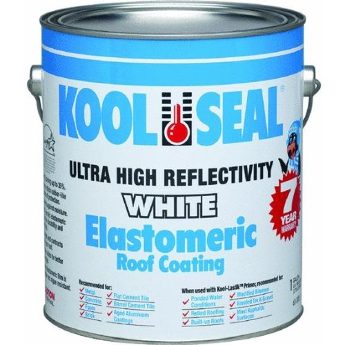 KST COATINGS  KST063300-16 Elastomeric Roof Coating, 1-Gallon