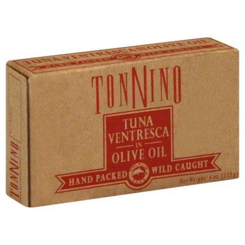 Ortiz Ventresca Tuna - Tonnino Tuna Ventresca In Oil, 4OZ (6PK)
