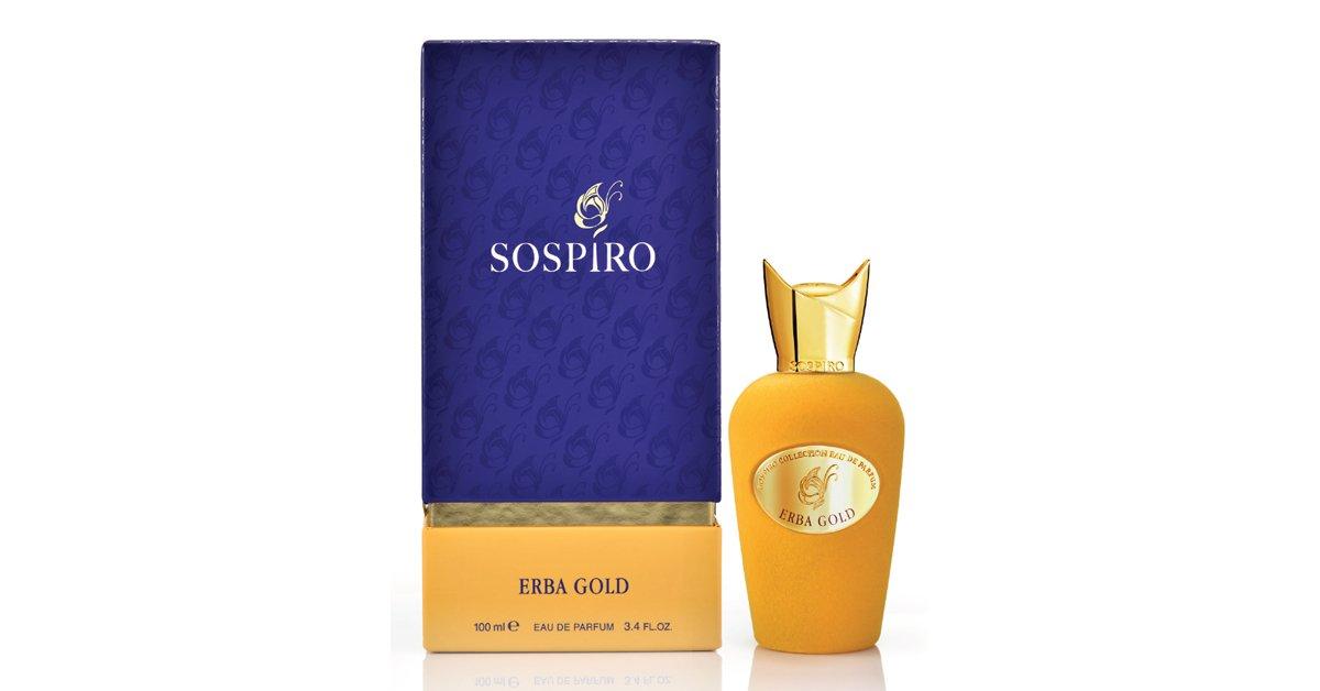 Sospiro Erba Gold 100 Ml Eau De Parfum Spray Amazoncouk Beauty