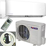Pioneer Air Conditioner Inverter++ Ductless Wall Mount Mini Split System Air Conditioner & Heat Pump Full Set, 12000 BTU 115V