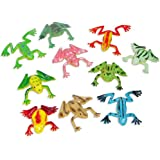 Fun Express - Mini Vinyl Frogs (1-Pack of 72)