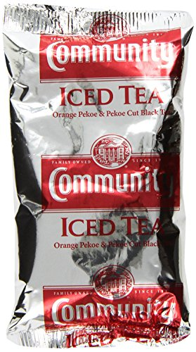 Community Coffee Pre-Measured Packs Open Brew Iced Tea 4.0 oz. 24 count