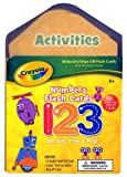 Crayola Numbers Flash Cards [With Wipe-Off Eraser and Crayola Dry Erase Marker] (Crayola (Piggy Toes Press)) by Piggy Toes Press (Corporate Author) (13-Jan-2011) Paperback