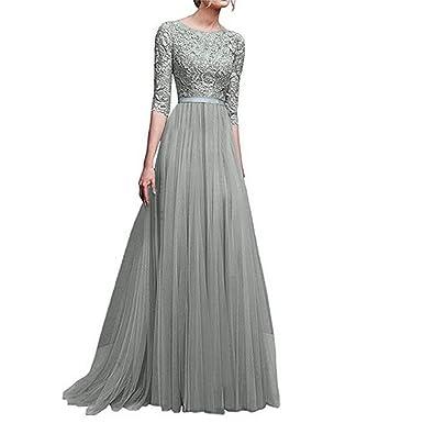 dd3c14aaec 2019 Women's Long Sleeve Floral Pockets Casual Swing Pleated T-Shirt Dress  by CieKen
