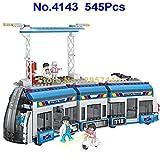 Babytintin Cogo City Bus Rapid Transit Metro Train Building Block Set For Kids 545 pcs