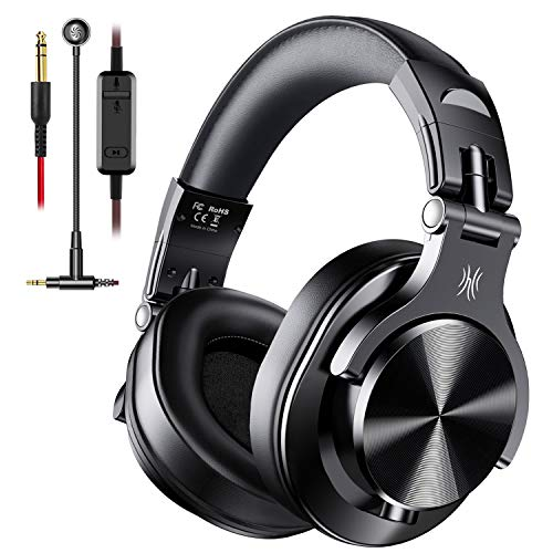 OneOdio A71 PC Headsets with Boom Mic – Office Over Ear Wired Headphones for Business Meeting Skype Call Center Phone…