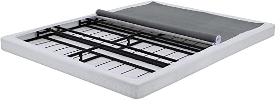 Classic Brands Hercules Instant Folding Mattress Foundation Low Profile 4-Inch Box-Spring Replacement