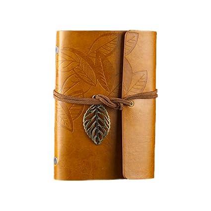 Amazon.com: LOCHI New Sketchbook Stationery Agenda Vintage ...