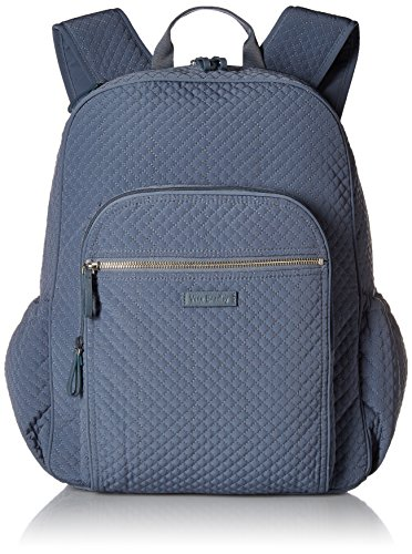 Vera Bradley Iconic Campus Backpack, Microfiber, Charcoal