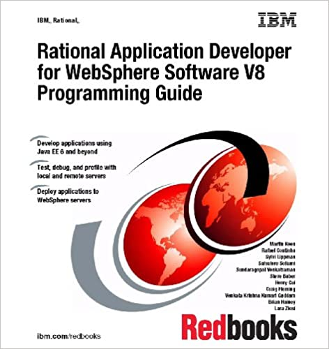 Rational Application Developer For Websphere Software V8 Programming Guide 9780738435596 Computer Science Books Amazon Com