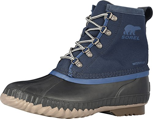 Sorel Men's Cheyanne II Short Nylon Boot (11 D(M) US, Collegiate Navy)