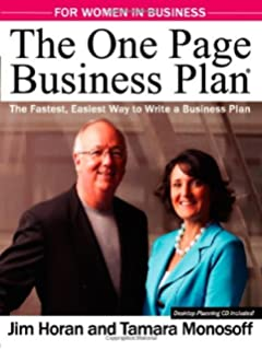 Who is a business plan written for