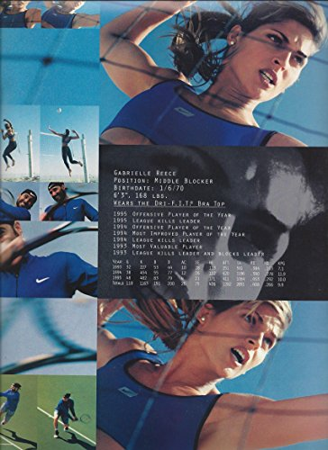 --PRINT AD-- 8 PG Set With Champion Athletes For Nike Products 1996 --PRINT AD--