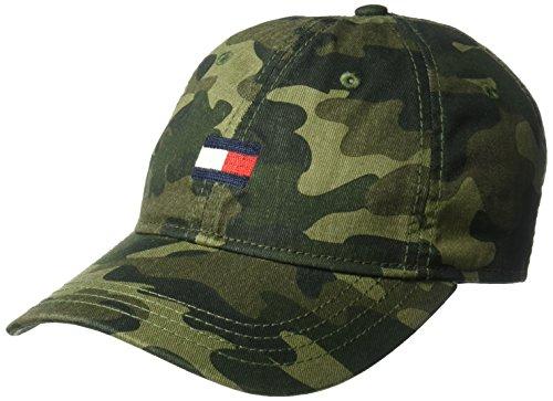 (Tommy Hilfiger Men's Ardin Dad Hat, Camo, One Size)