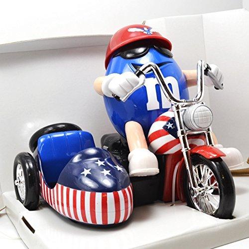 M&M's REDWHITE & BLUE Motorcycle Candy Dispenser M & M's ...