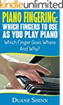 Piano Fingering:  Which Fingers To Us...
