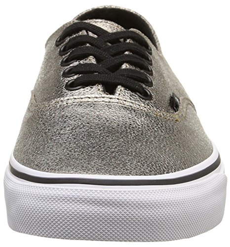 Vans Métallique Authentique Decon Hommes Skateboard-chaussures Vn-018cgje_7.5 - Bronze / True White