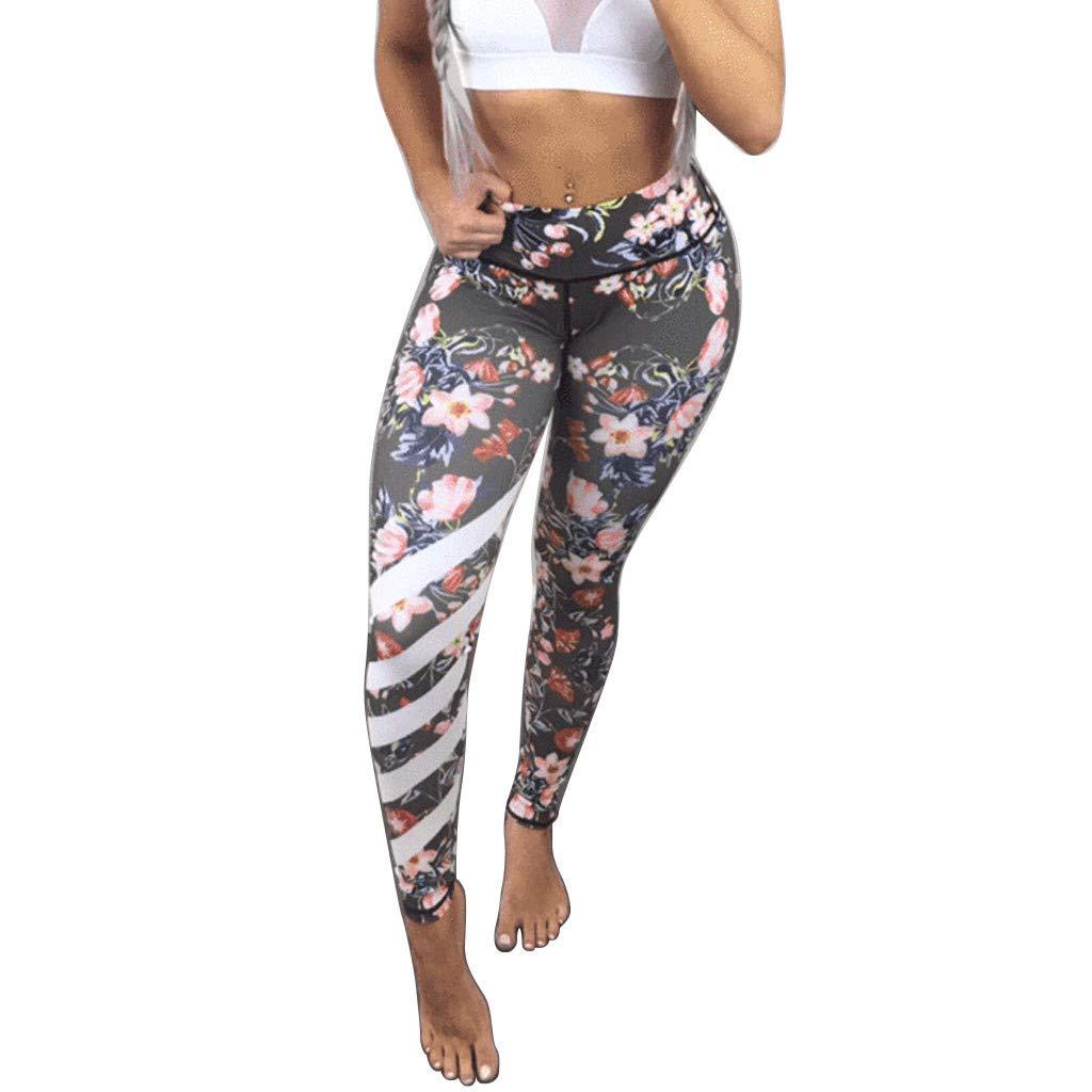 Panties for Women Soft Slim Tretch Hip Running Bodywear Underpants Printed Yoga Pant Full Length nikunLONG