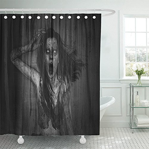 Emvency Moaning 3D of Scary Ghost Woman in