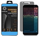 Nexus 5X Privacy Anti-Spy Tempered Glass Screen Protector Guard Film - KINGCOO LG (Google) Nexus 5X Privacy Tempered Glass Screen Protector ,Keep Your Information Private