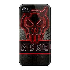 Iphone 4/4s INU14727AAJD Provide Private Custom Stylish Metallica Image Durable Hard Phone Cases -DannyLCHEUNG