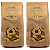 Vigne Vecchie Tarallini with Extra Virgin Olive Oil 8.8 oz. (2 pack), Fresh Baked Breadsticks [Imported from Italy]