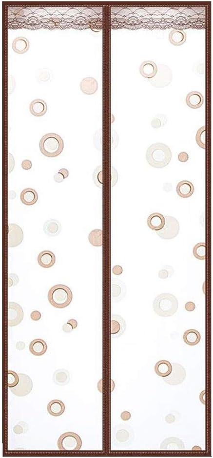 EVA Mat/ériaux Moustiquaire porte Moustiquaires for portes Color : C, Size : 120 * 220CM rideaux de porte isothermiques magn/étique for lair chaud hiver frais d/ét/é
