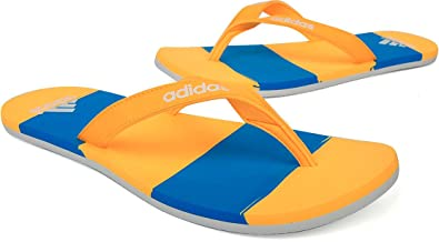 d6fbbf7a2 Image Unavailable. Image not available for. Colour  adidas Eezay Striped  Mens Flip Flop ...