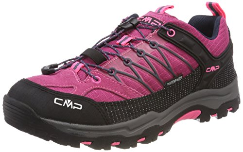 CMP Rigel, Zapatos de High Rise Senderismo Unisex Adulto Rosa (Pink Fluo-asphalt)