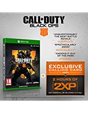 Call of Duty : Black Ops 4 with 2 Hours of 2XP + an Exclusive Calling Card (Exclusive to Amazon.co.uk) (Xbox One)