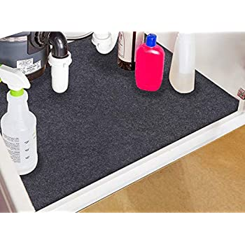 Amazon Com Under The Sink Mat Kitchen Tray Drip Cabinet Liner Fabric Layer