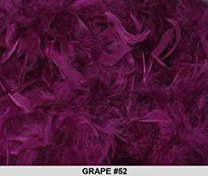 Solid Boas 6 Foot Long 50 Gram in a Variety of Shades Great for Parties, Crafts, and Fun! (Purple Berry #117)