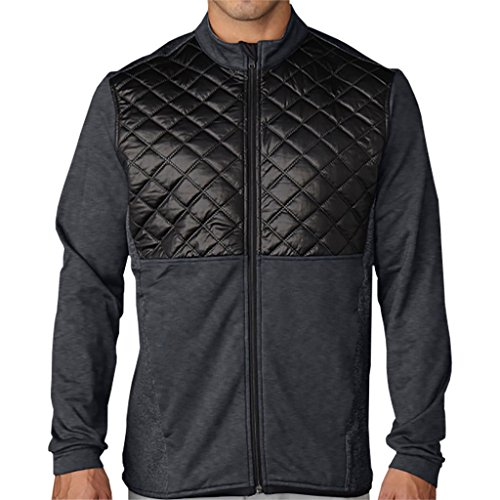 adidas Golf Men's CLIMAHEAT? Prime Quilted Full Zip Jacket -  AE9305-Parent