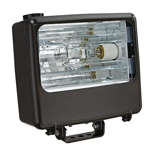 Lithonia Lighting TFL 400M RA2 TB SCWA IS LPI 1 Lamp 400W Metal Halide Flood Light, Bronze