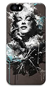 First Design Funny Marilyn Monroe Quote RUBBER iphone 5 Durable Case 6