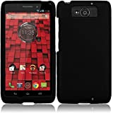 HR Wireless Motorola Droid Maxx/XT-1080M/Droid Ultra XT-1080 Rubberized Protective Cover - Retail Packaging - Black