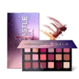 18 Colors Pearl Powder Matt And Shimmer Eyeshadow Pigments Waterproof Smoky Makeup Palette