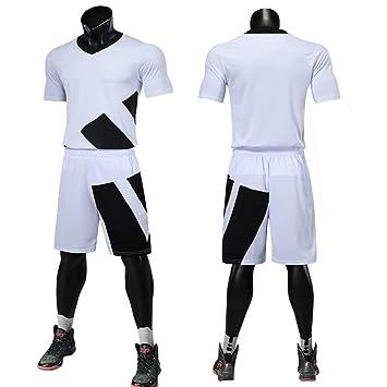 Amazon.com: GJFeng Uniforme de fútbol para hombre, de color ...