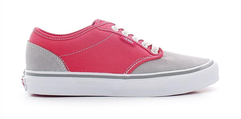Vans  Damen Sneaker Grau GRAY/RASPBERRY