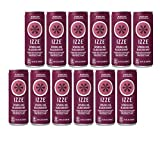 IZZE Fortified Sparkling Juice, Blackberry, 8.4-Ounce Cans (Pack of 12)