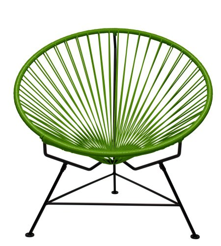Cheap  Innit Designs Innit Chair, Olive Weave on Black Frame