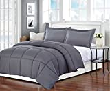 Alternative Comforter - Christies Home Living Polyester Warmth King Down Alternative Comforter Duvet Insert, 104